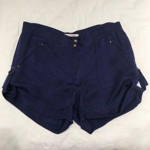 Diane von Furstenberg silk shorts